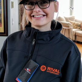 The Rival gear is here…Thanks Josie from Northern Finland for modelling