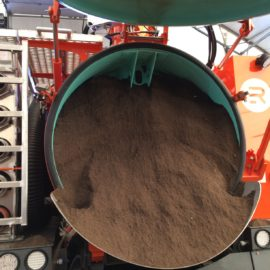 Full Sand Load…52000 lbs Total Weight