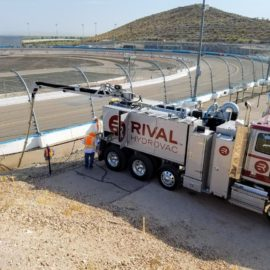 Rival at the Phoenix Motor Speedway